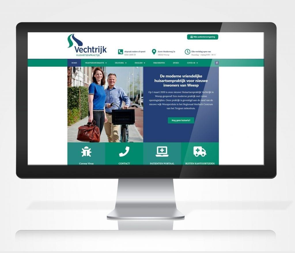 Praktijk website huisarts weesp